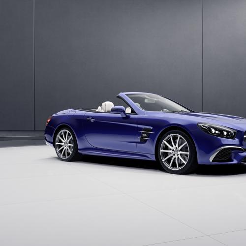 Mercedes SLC RedArt Edition et SL Designo Edition
