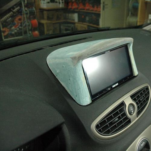 Intallation d'un double DIN sur une Clio 3