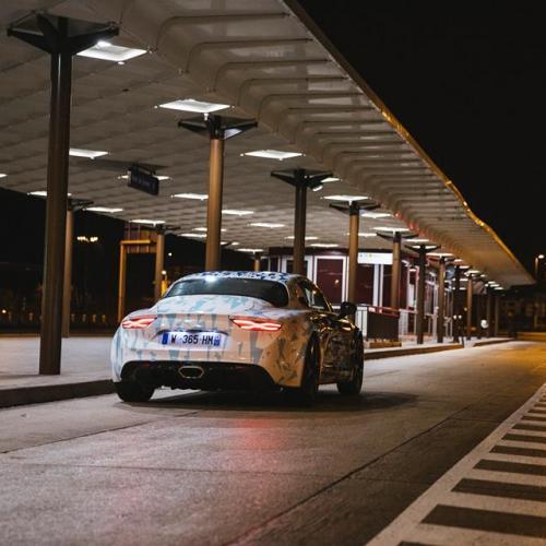 Les nouvelles Alpine en vadrouille à Paris