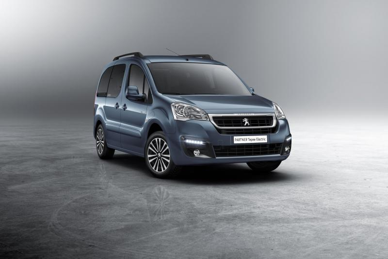Peugeot Partner Tepee électrique 2017
