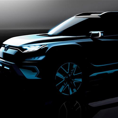 SsangYong XAVL Concept Teasers