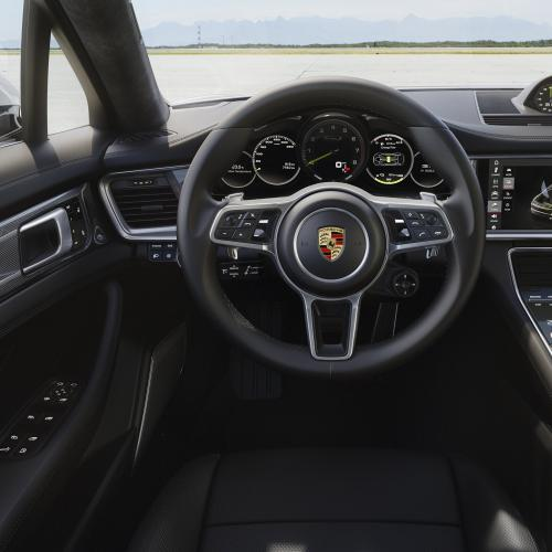 Porsche Panamera Turbo S E-Hybrid (officiel - 2017)