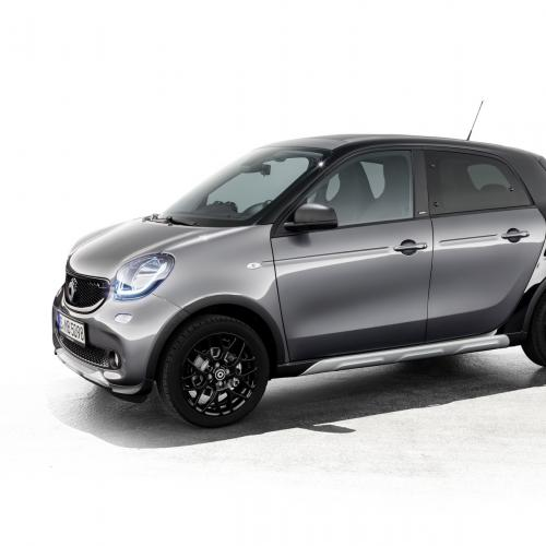 Smart ForTwo Cabrio Brabus Edition #2 et ForFour Crosstown