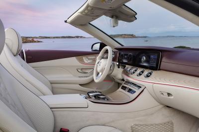 Nouvelle Mercedes Classe E Cabriolet 2017